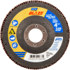 Norton Blaze CA Coarse Center Mount Fiberglass HD Flat Flap Disc -- 66261020633 - Image