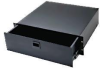 Middle Atlantic Rack Drawers, Black Anodized Finish -- MD-D