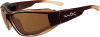 Wiley-X Jake Sunglasses with Polarized Bronze Lens and Gloss -- WX-CCJAK04