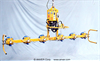 Six Pad Electric Inline Lifter with Powered Tilt -- ET40M6-110