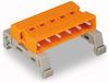 Double pin header; Pin 1.2 x 1.2 mm; 10-pole -- 232-590/007-000