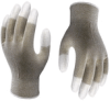 Dissipative Grey Nylon Gloves -- AO610-L - Image