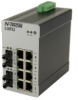 110FX2 Unmanaged Industrial Ethernet Switch, ST 80km -- 110FXE2-ST-80 -Image