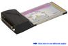 Single RS-232 Serial Port CardBus PC Card -- CBS121