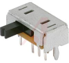 Switch, Slide, Miniature, DP3T, On-On-On, 0.1A @ 12VDC Contact Rating -- 70128250 - Image