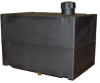 6 Gallon Cross Link Plastic Fuel Tank - With Fitting -- A-SP0006-SFPSXNAS