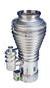 Unvalved Diffstak Vapor Pump -- 160/700C