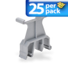 LABEL HOLDER 25/PK FOR 35mm DIN RAIL KONNECT-IT -- KN-MA-5-25