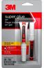 3M 18008 Super Glue Gel - Clear Liquid 0.14 oz Tube - 90886 -- 051141-90886