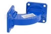 WR-90 Commercial Grade Waveguide H-Bend with UG-39/U Flange Operating from 8.2 GHz to 12.4 GHz -- PE-W90B002 - Image