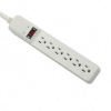 Basic Home/Office Surge Protector, 6 Outlets, 15ft Cord -- 99036