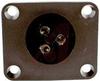 Connector; Socket; 3; Screw Terminal; 32 A/30 A (CSA); 600 VAC/VDC; -40 degC -- 70099196