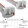 Rectangular Cable Assemblies -- H3DDS-1036G-ND -- View Larger Image