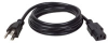 Computer Power Cord, 10A, 18AWG (NEMA 5-15P to IEC-320-C13) 12-ft. -- P010-012