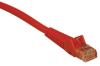 Cat5e 350MHz Snagless Molded Patch Cable (RJ45 M/M) - Orange, 10-ft. -- N001-010-OR