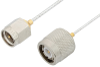 SMA Male to TNC Male Cable 18 Inch Length Using PE-SR047FL Coax -- PE34412-18 -Image