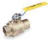 Ball Valve,2 In Solder,Cast Bronze -- 5MU25
