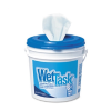 KIMTECH PREP Wipes for WETTASK System, 12 x 12 1/2, 90/Roll, -- 06411
