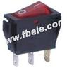 Miniature Rocker Switch -- IRS 101-1A ON-OFF - Image