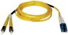 Duplex Singlemode 8.3/125 Fiber Patch Cable (LC/ST), 10M (33-ft.) -- N368-10M