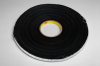 3M 4516 Black Single Sided Foam Tape - 1/2 in Width x 36 yd Length - 1/16 in Thick - 03307 -- 021200-03307 -- View Larger Image