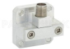 WR-34 Square Cover Flange to 2.92mm Female Waveguide to Coax Adapter Operating from 22 GHz to 33 GHz -- PE9827 - Image