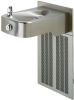 Barrier-free, Wall Mounted, Low-profile, 14 Gauge Type 304 Stainless Steel, Electric Water Cooler With 100% Lead-free Waterways -- H1107.8