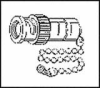 AMPHENOL RF - 35650-51 - CAP & CHAIN, 50OHM BNC COAXIAL CONNECTOR -- 613308 - Image