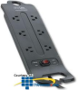 ITW Linx SP6 Advanced Series 6 Outlet Surge Protector -- ITW-SP6