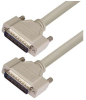 Deluxe Molded D-Sub Cable, HD44 Male / Male, 1 ft -- HAD00005-1F -Image