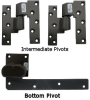 Topless Pivot Hinge for Arch Top Doors -- 896015