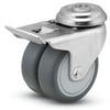 DW - Dual Wheel Series Caster -- DW-02GRP-100-TL