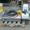 Mini Semi Portable Lift Table in Stainless Steel