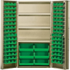 """Heavy-Duty All-Welded Storage Cabinets - 36"""" Wide - QSC-BG-36S - Image"""