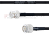 BNC Male to TNC Male MIL-DTL-17 Cable M17/84-RG223 Coax in 60 Inch -- FMHR0035-60 -Image