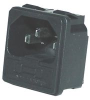 CONNECTOR, POWER ENTRY MODULE, PLUG, 10A -- 17B6995 - Image