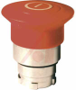 Pushbutton Operator, Non-Illum. Mushroom Red 40mm Head, Push-Pull, 22mm -- 70156748 - Image