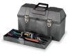 Tool Box w/Tray,20Wx8 3/4Dx12 1/2H -- 1RG76