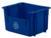 LEWISBins+ Stack and Carry Recycling Containers -- 49689