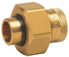 Lead Free Dielectric Unions - Female Brass Pipe Thread to Female Solder Connections -- LF3008