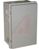 Enclosure; ABS/PC Blended Plastic; Polyurethane Gasket; Light Gray; NEMA1,2,4,4X -- 70147739