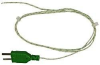 Type K Thermocouple (Exposed Wire, Fiberglass Insulated) -- Pico Fiberglass Thermocouple