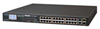 24-Port 10/100TX 802.3at PoE+ with 2-Port Gigabit TP/SFP Combo Ethernet Switch