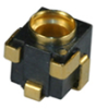 RF Coaxial Board Mount Connector -- 90MMCXS50-0-55E -- View Larger Image
