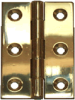 Butt Hinges - Solid Brass -- 658006
