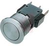 Switch; Panel Mount; LED; 5/3 A; 125/250 VAC, 5 VDC; SPDT; Quick Connect; PBTB -- 70020827