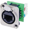 RJ45 Receptacle Housing W/Insert 110 Punch -- NEUNE8FDVY110