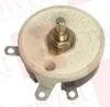 OHMITE RHS15R ( RHEOSTAT, WIREWOUND, 15 OHM, 25W; PRODUCT RANGE:RHS SERIES; TRACK RESISTANCE:15OHM; POWER RATING:25W; ADJUSTMENT TYPE:SCREWDRIVER SLOT; POTENTIOMETER ) -Image