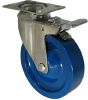 Stainless Swivel Caster with Total Locking Brake - Model 3A -- SS-3AAP5-SML