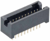 10+10 Pos. Male DIL Vertical Throughboard Conn. -- M50-4701045 -- View Larger Image